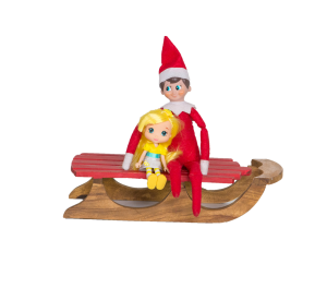 Elf_on_Sled_with_Doll