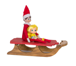 Elf_on_Sled_with_Doll_2